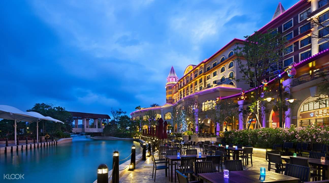 珠海长隆马戏酒店自助餐 / 户外自助烧烤